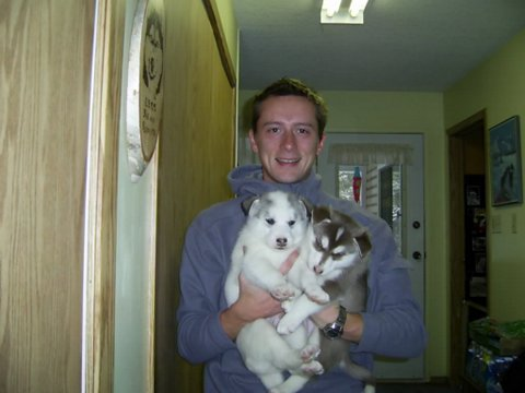 Matt, Finnegan and Casey - November 2006