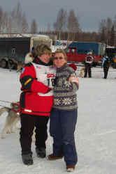 Karen & Colleen Hovind (Iditarod 2006 Handler)